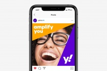 Yahoo! Mobile Device – New Design (2019), Quelle: Pentagram/Bierut