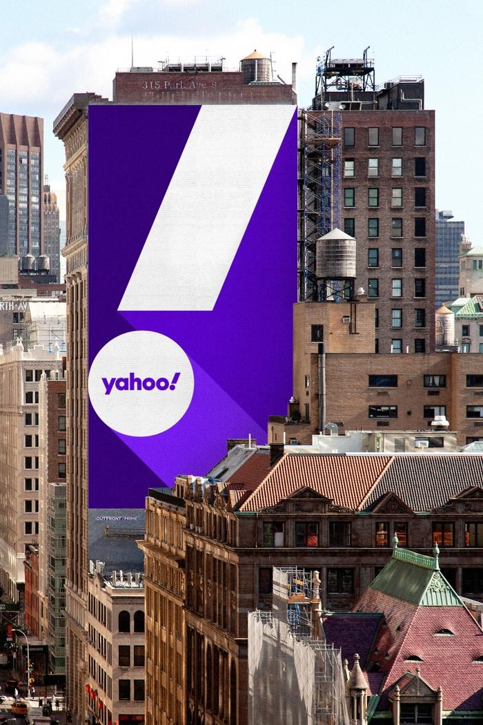 Yahoo! Ad – New Design (2019), Quelle: Pentagram/Bierut
