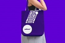 Yahoo! Bag – New Design (2019), Quelle: Pentagram/Bierut