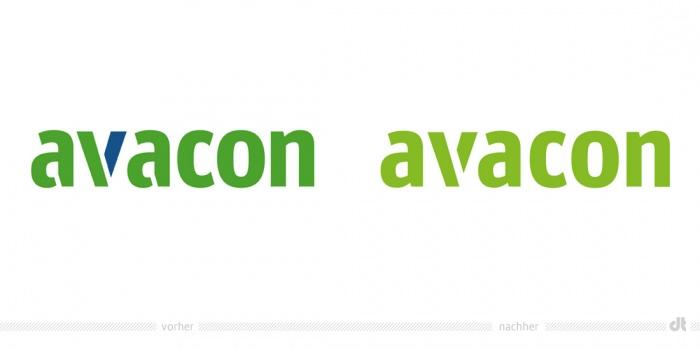 Avacon Logo – vorher und nachher