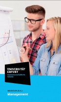 Uni Erfurt Corporate Design – Flyer Management, Quelle: Uni Erfurt