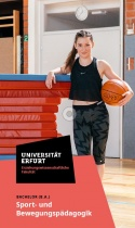 Uni Erfurt Corporate Design – Flyer Sport, Quelle: Uni Erfurt