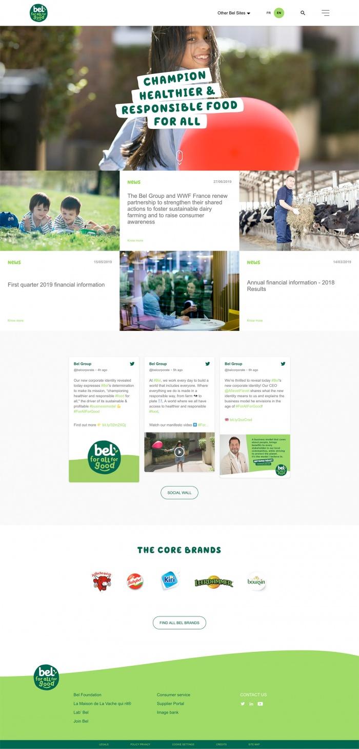 Bel Group Website