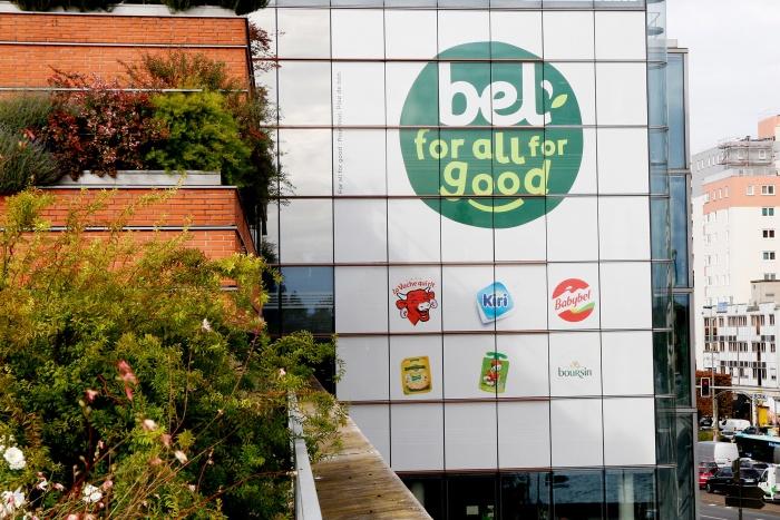 Bel Logo – Fassade, Quelle: Bel Group