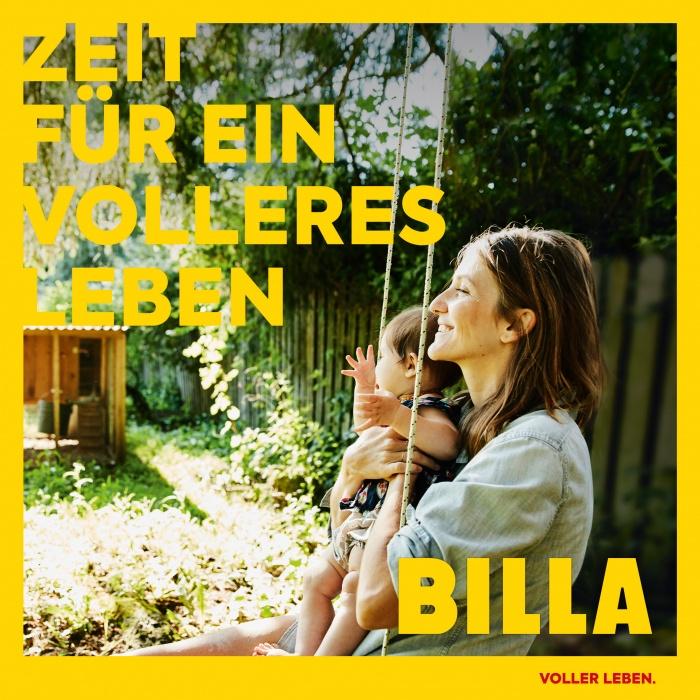 Billa Kampagne – Voller Leben, Quelle: Billa