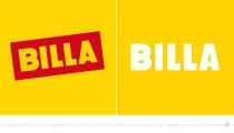 Billa Logo – vorher und nachher