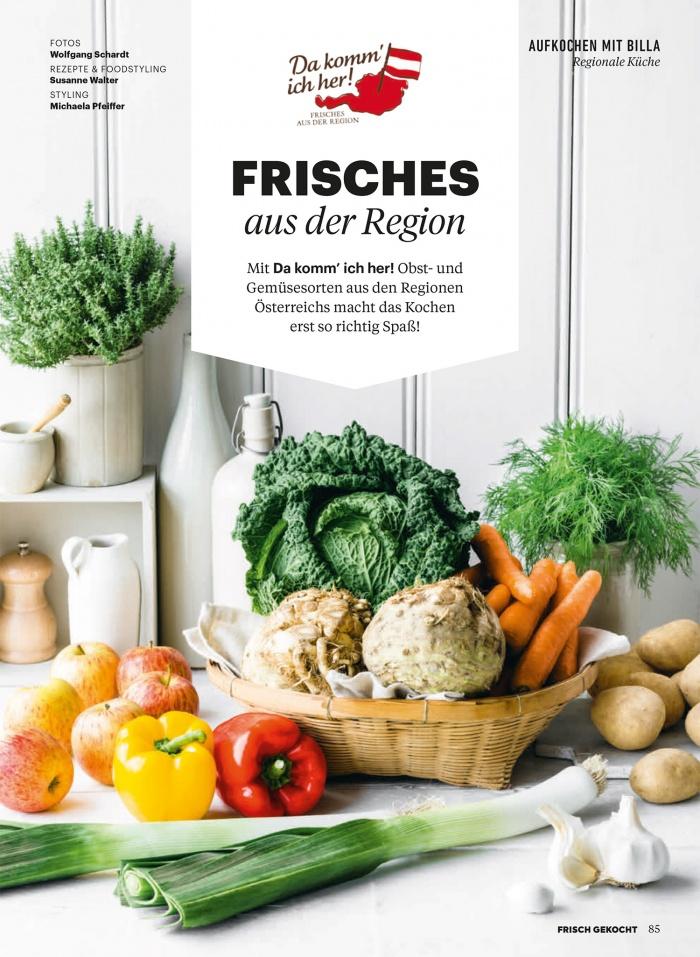 Billa Magazin Frisch gekocht 10/2019, Quelle: Billa