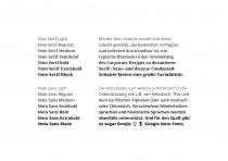 Uni Erfurt Corporate Design – Schrift, Quelle: Uni Erfurt