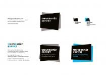 Uni Erfurt Corporate Design – Erläuterung, Quelle: Uni Erfurt