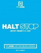 RTL Zwei – Printanzeige Redesign, Quelle: RTL Zwei