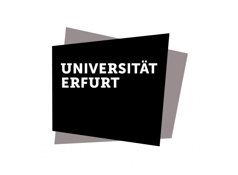 Uni Erfurt Logo, Quelle: Uni Erfurt