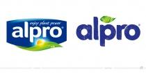 Alpro Logo – vorher und nachher