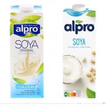 Alpro Soya 1l – vorher und nachher