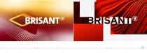 BRISANT Logo – vorher und nachher