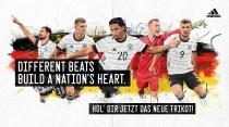 DFB Adidas Trikot Banner, Quelle: DFB