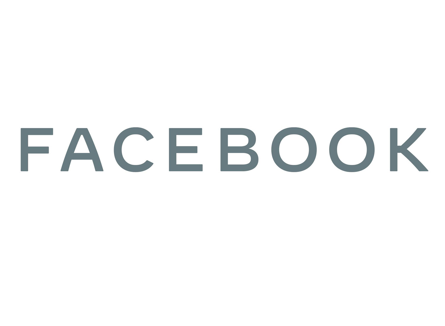 Facebook Corporate Logo (ab 11/2019), Quelle: Facebook