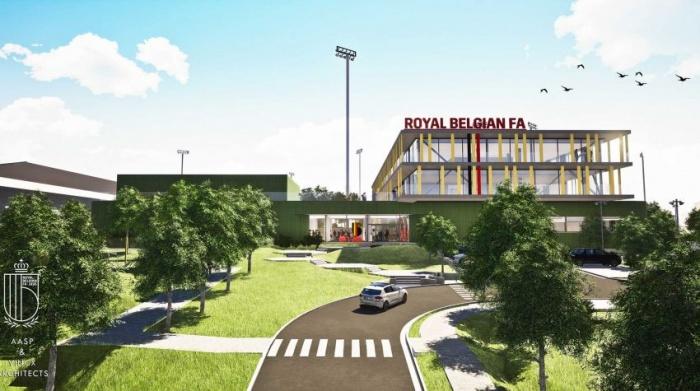 RBFA Belgian Football Centre, Quelle: RBFA