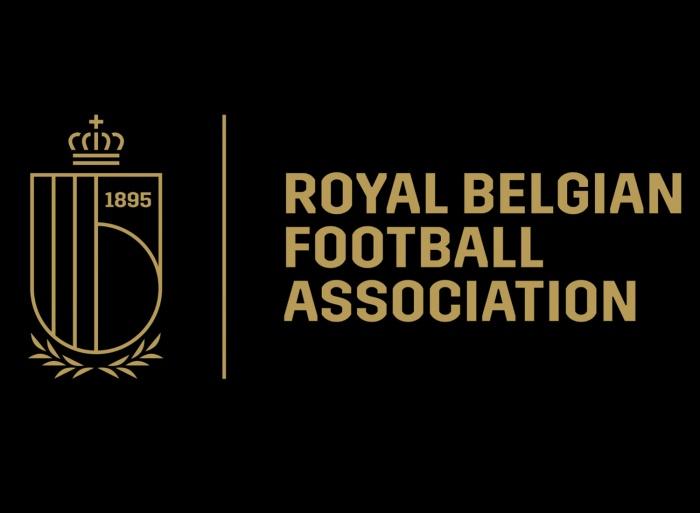 Royal Belgian Football Association Logo Outline Version, Quelle: RBFA