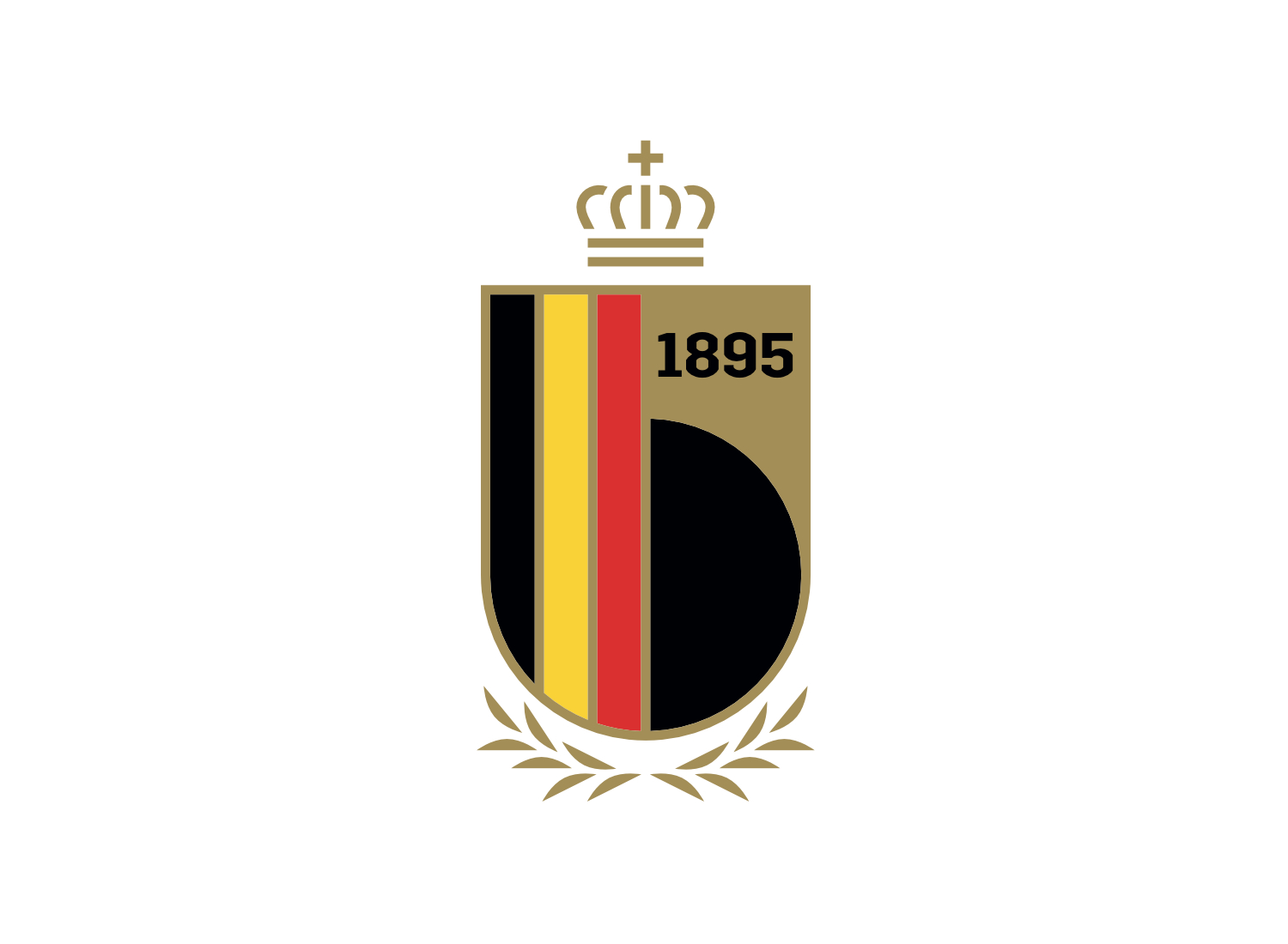 Royal Belgian Football Association Logo, Quelle: RBFA