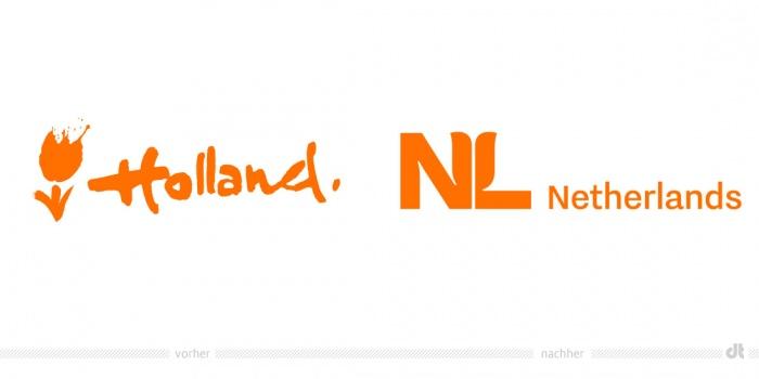 Netherlands Logo – vorher und nachher