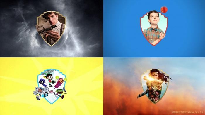 Warner Bros. Branding – Shield, Quelle: Pentagram