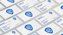 Warner Bros. Branding – Stationery Cards, Quelle: Pentagram
