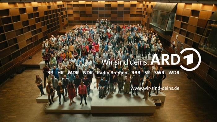"""ARD – """"Wir sind deins"""" Kampagnenmotiv, Quelle: ARD"""