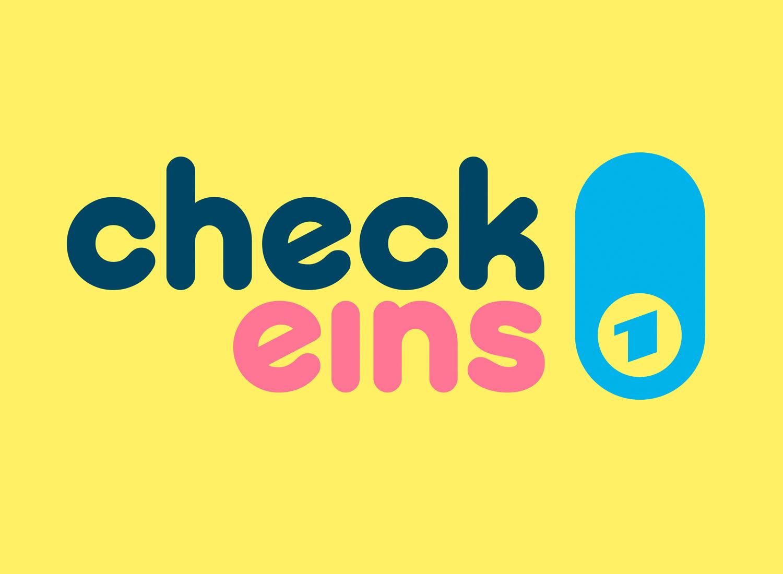 Check Eins Logo, Quelle: ARD