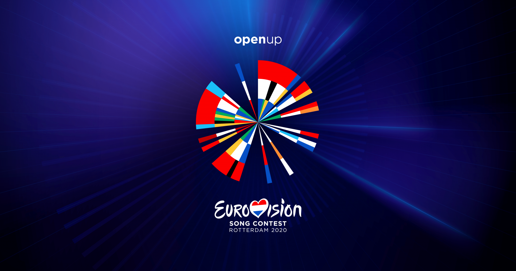 Keyvisual des Eurovision Song Contest 2020 in Rotterdam