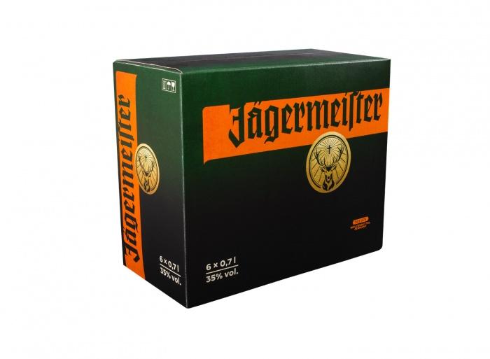 Jägermeister Packaging-6 x 0,7l
