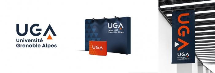 Universität Grenoble (UGA) Logo Design 1, Quelle: UGA