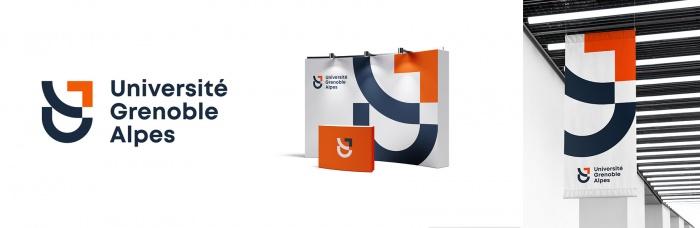 Universität Grenoble (UGA) Logo Design 2, Quelle: UGA