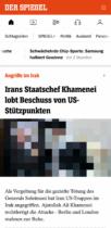 Der Spiegel Website responsiv