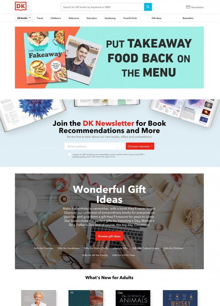 Dorling Kindersley Website