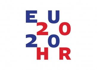 EU 2020 Presidency Croatia Logo, Quelle: eu2020.hr