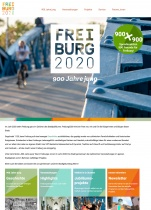 Freiburg 2020 Website