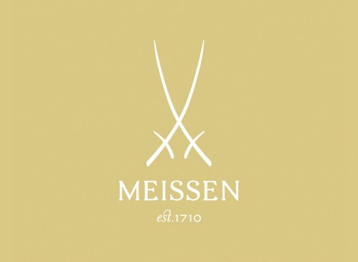 Meissen Logo, Quelle: Staatliche Porzellan-Manufaktur Meissen