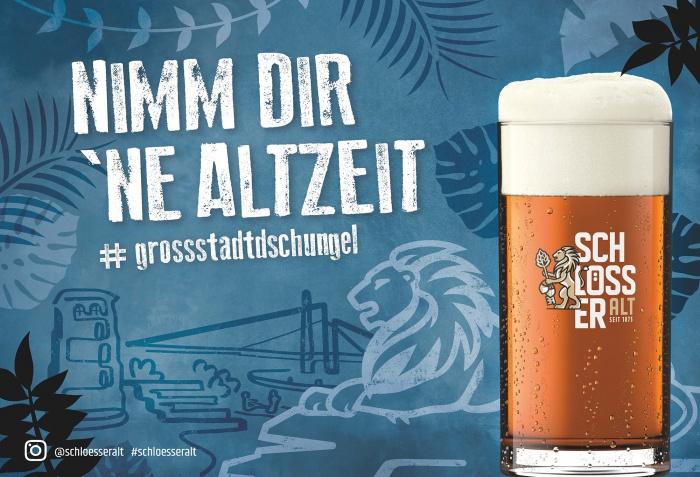 """Schlösser Alt – Anzeige """"Altzeit"""", Quelle: Radeberger Gruppe KG"""