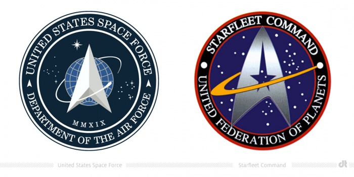 Space Force versus Starfleet Command