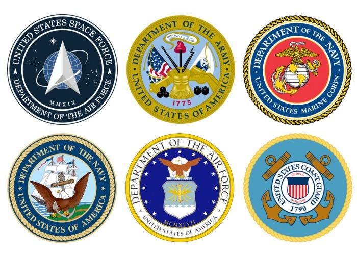 Streitkräfte der Vereinigten Staaten Siegel