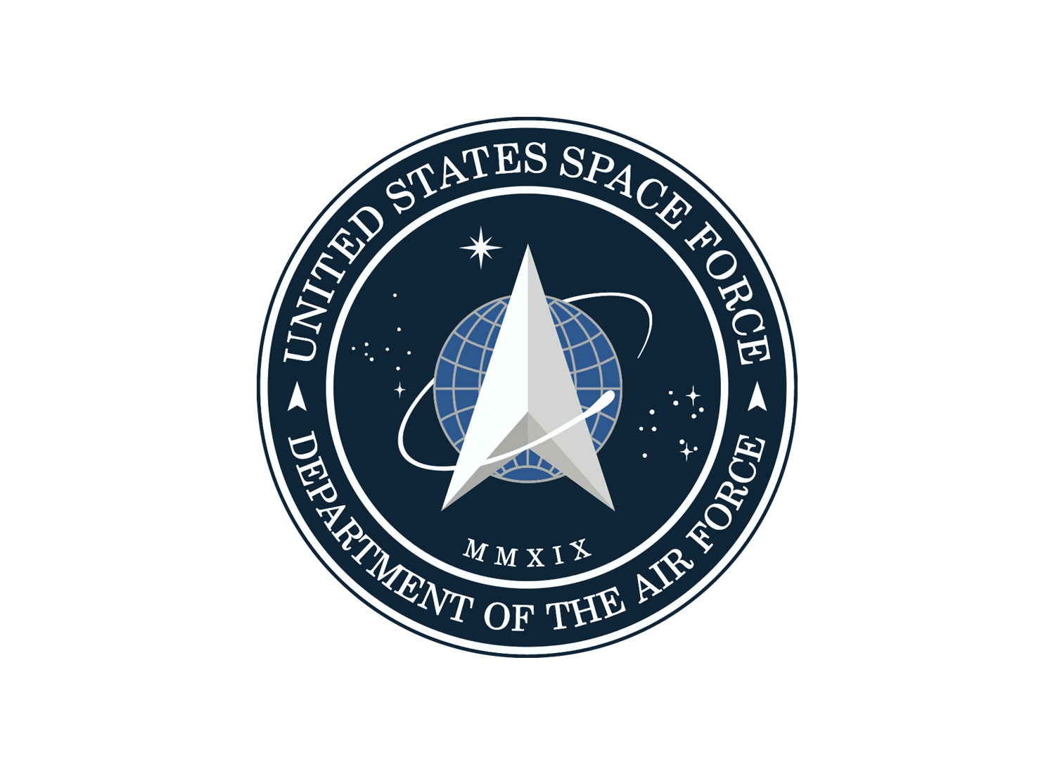United States Space Force Logo, Quelle: Wikipedia