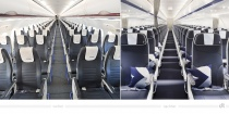 Aegean Airlines Cabin Design – vorher und nachher