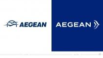Aegean Airlines Logo – vorher und nachher