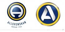 Allsvenskan Logo – vorher und nachher
