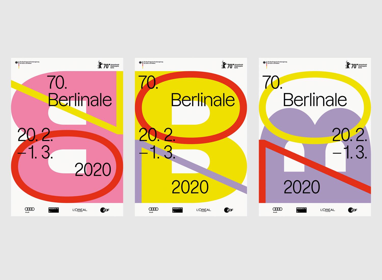 Berlinale 2020 Plakat, Gestaltung: State