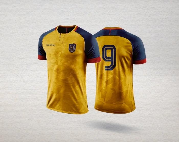 Federacion Ecuatoriana de Futbol – Trikot, Quelle: FEF