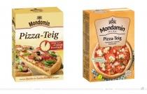 Mondamin Pizzateig – vorher und nachher