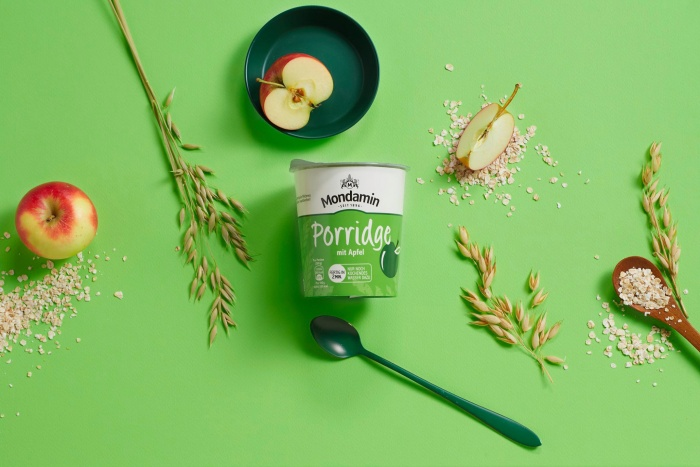 Mondamin Porridge mit Apfel – Visual, Quelle: Unilever