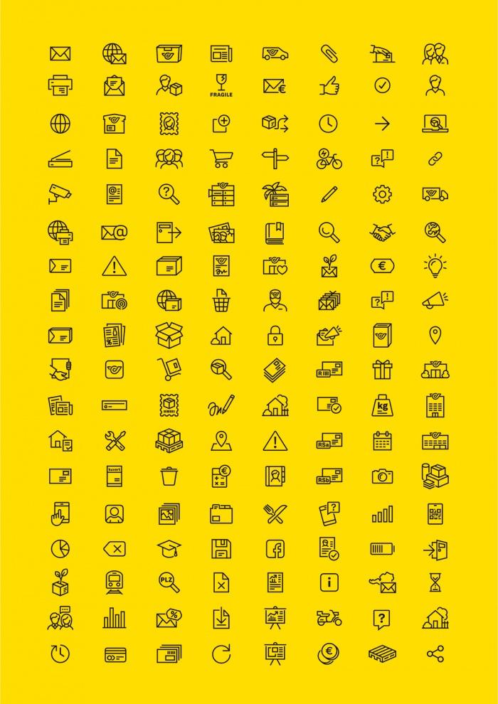 Österreichische Post – Icons, Quelle: Österreichische Post AG