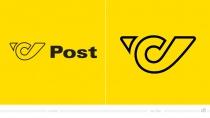 Österreichische Post Logo – vorher und nachher